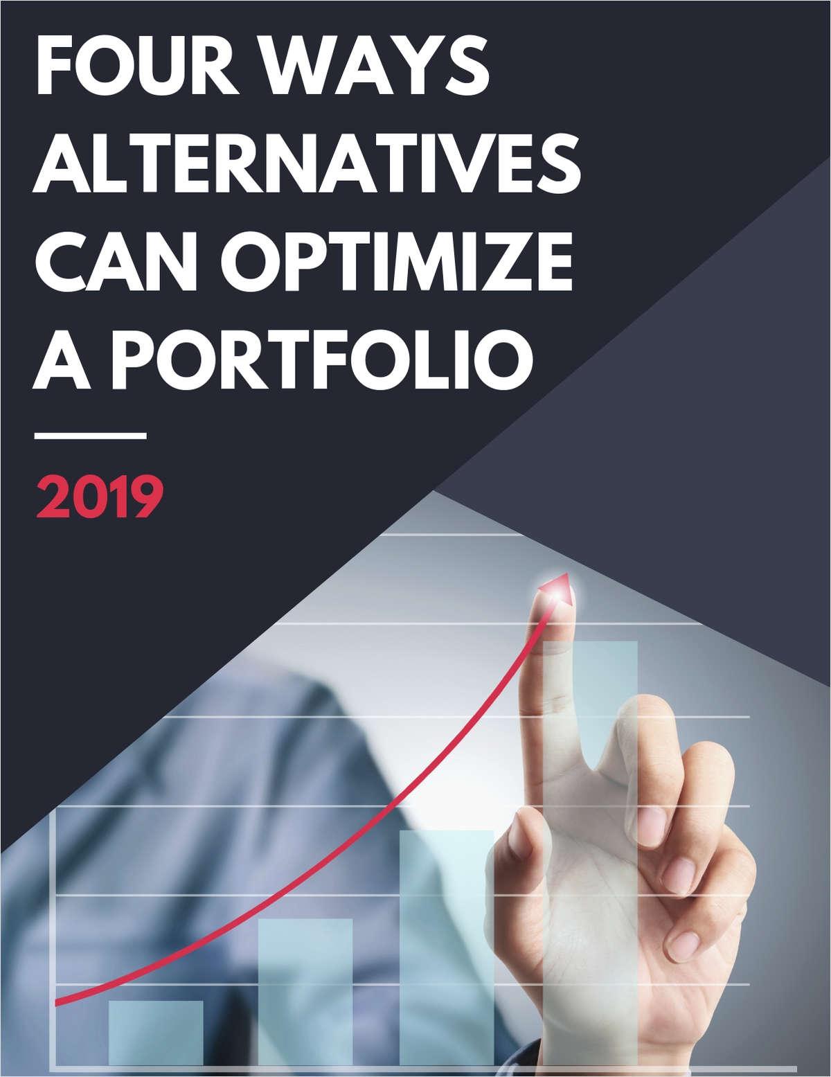 Four Ways Alternatives can Optimize a Portfolio