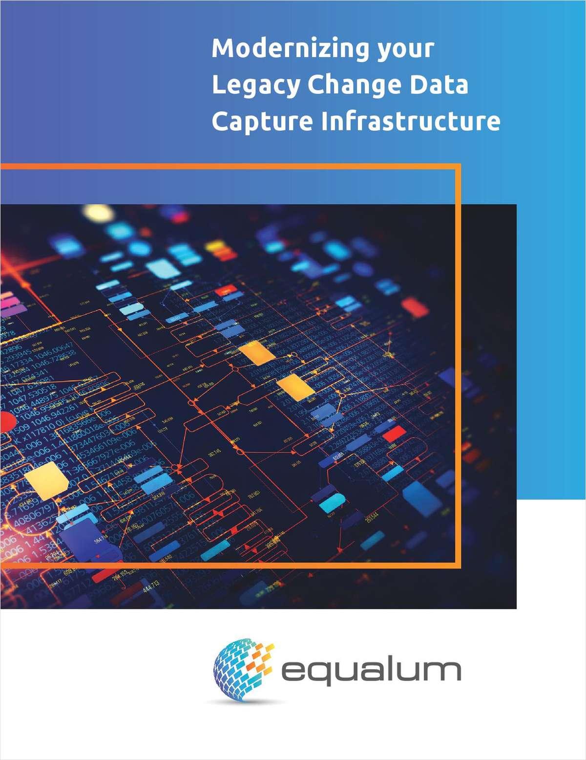 Modernizing your Legacy Change Data Capture Infrastructure