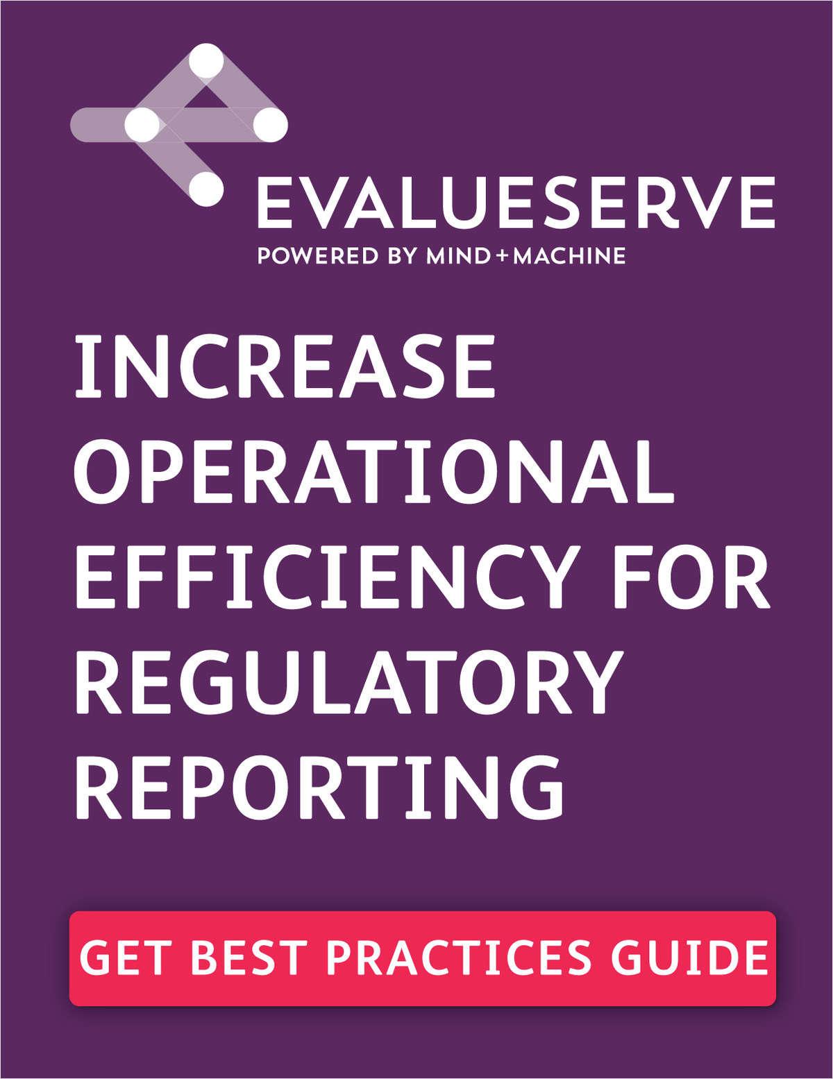How Banks Increase Operational Efficiency on Mandatory Money Market Portfolio Reporting.