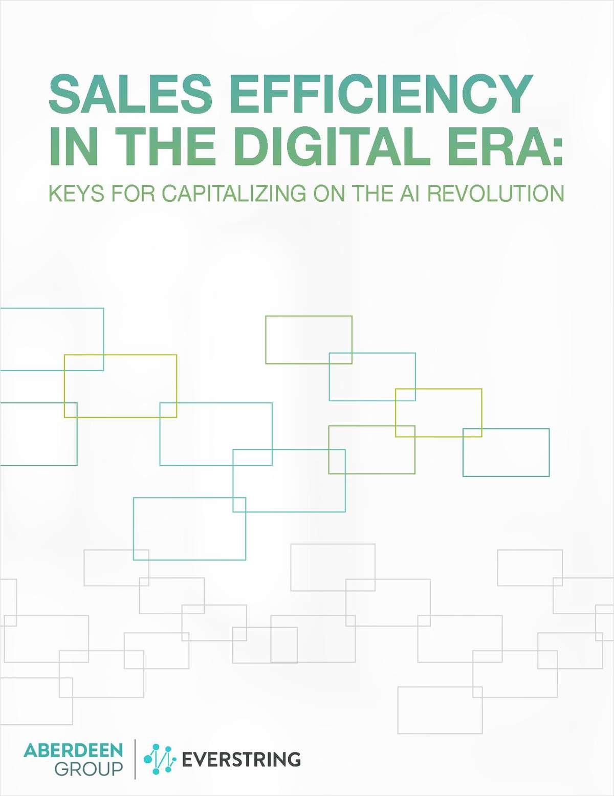 Sales Efficiency in the Digital Era