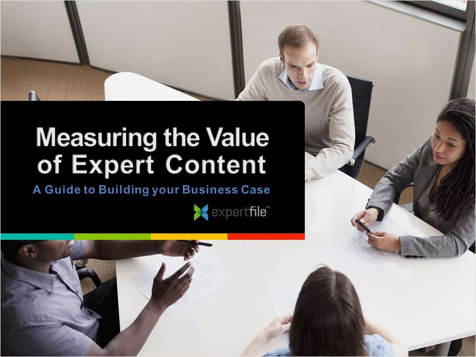 Measuring the Value of Expert Content in Higher Education