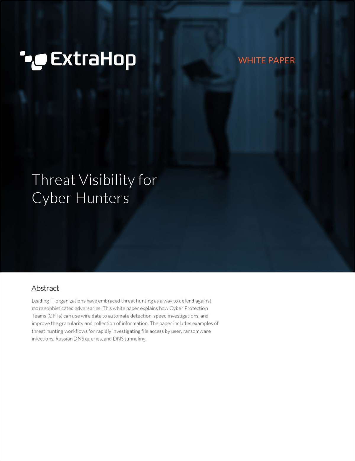 Threat Visibility for Cyber Hunters