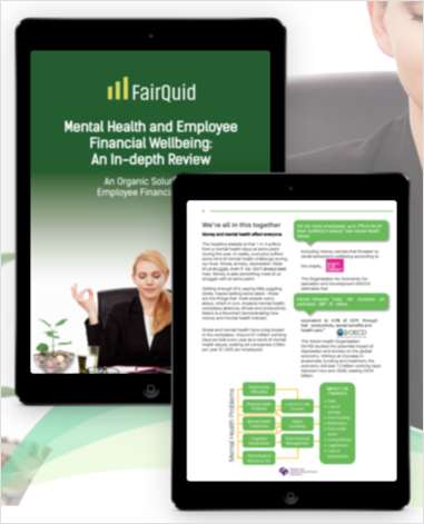Mental Health and Employee Financial Wellbeing