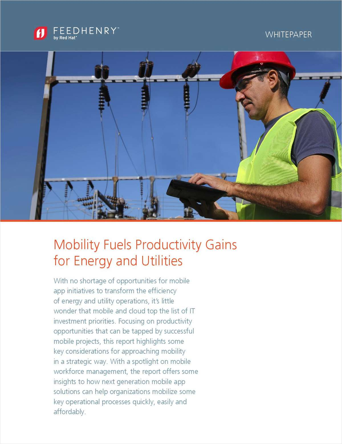 5 Considerations: Mobility Fuels Productivity Gains for Energy & Utilities