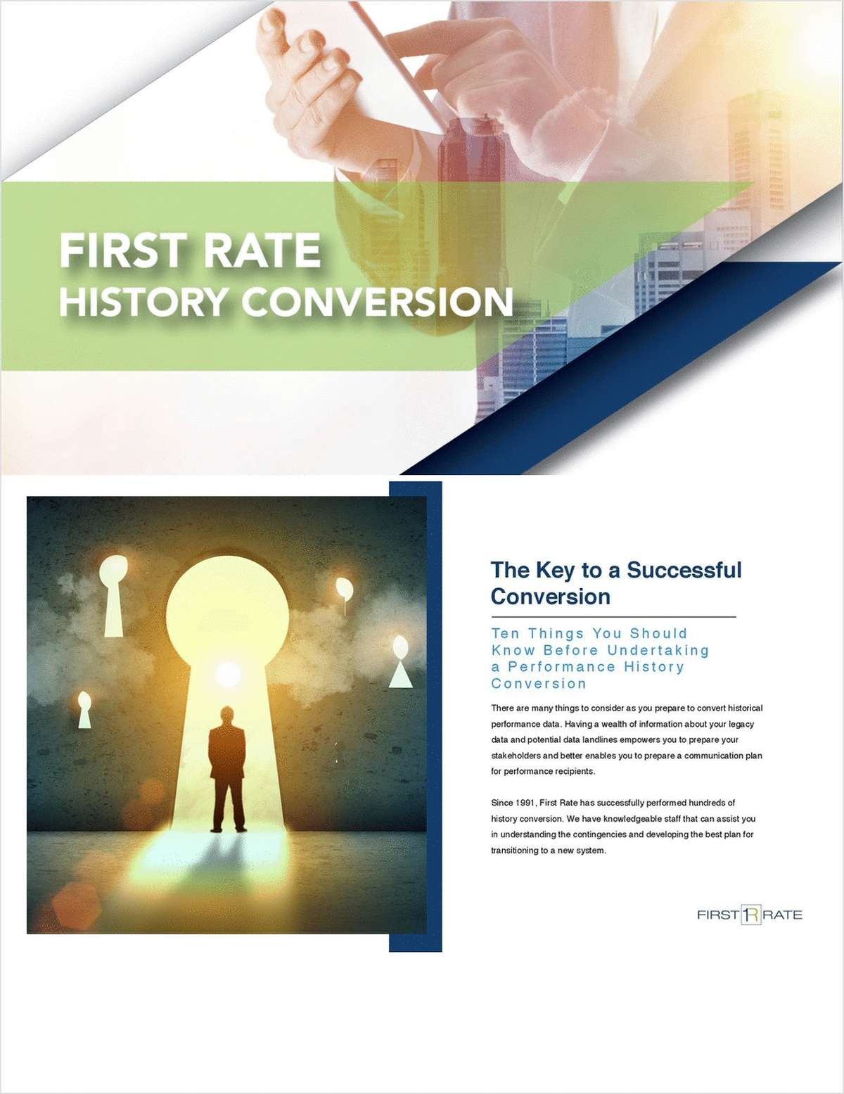 10 Things You Should Know Before Undertaking a Performance History Conversion