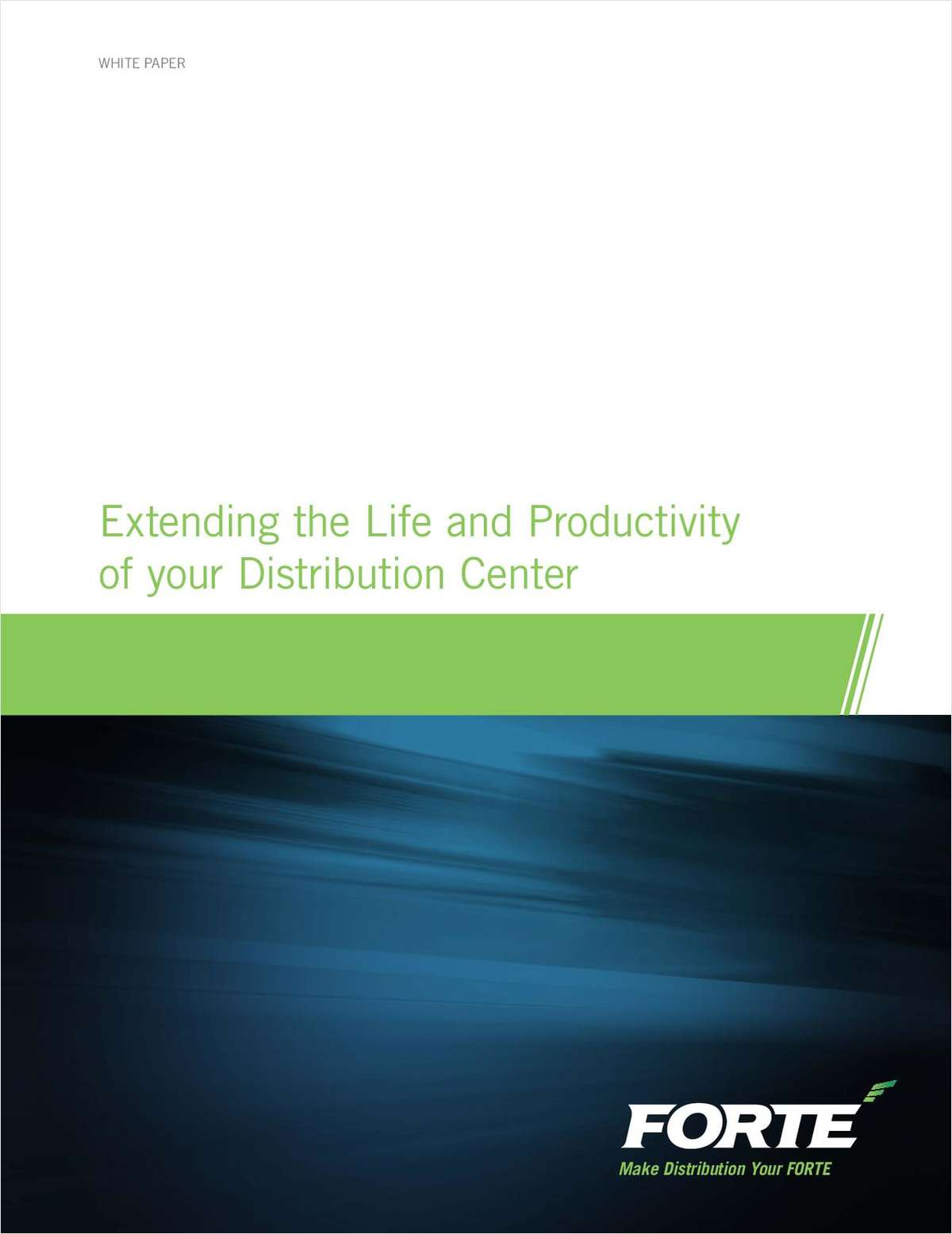 Extending the Life and Productivity of your Distribution Center