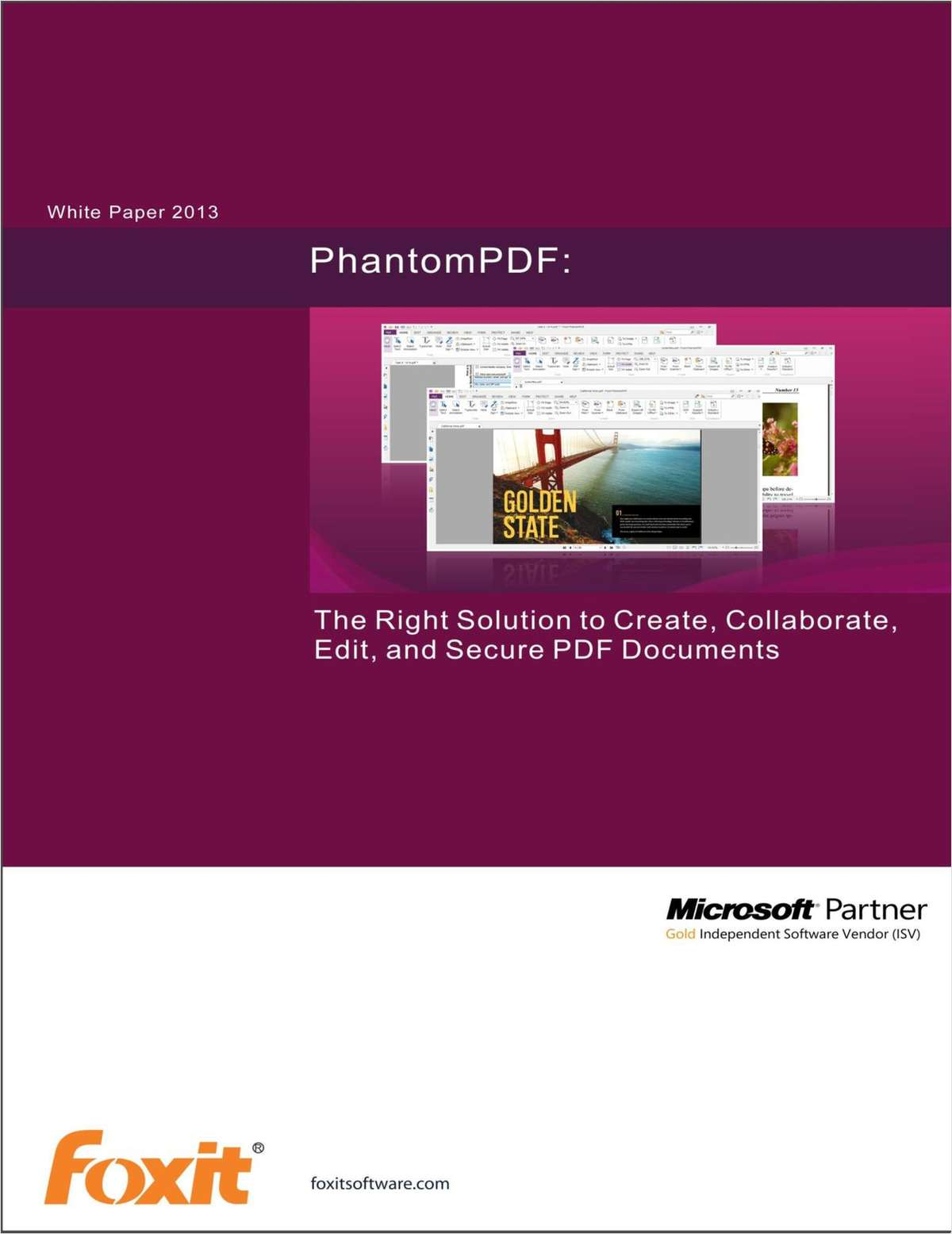 The Right Solution to Create, Collaborate, Edit, and Secure PDF Documents