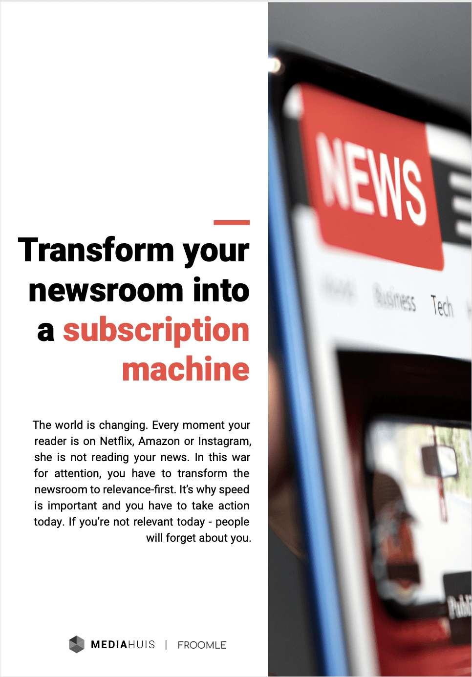 Transform Your Newsroom Into a Subscription Machine