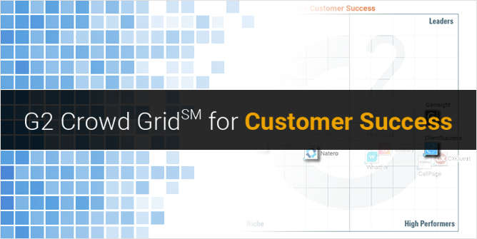 G2 Crowd Grid for Customer Success