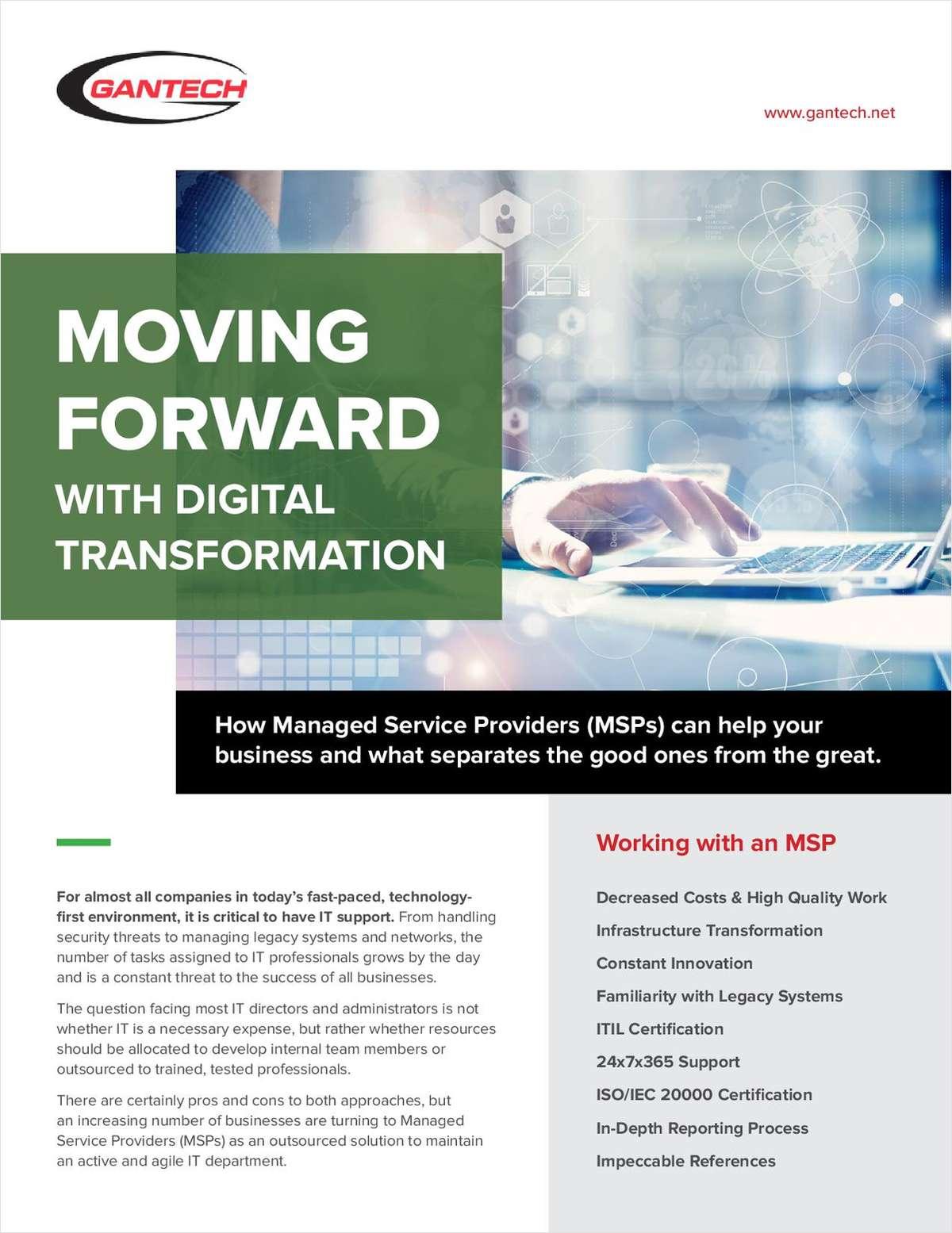 Moving Forward with Digital Transformation