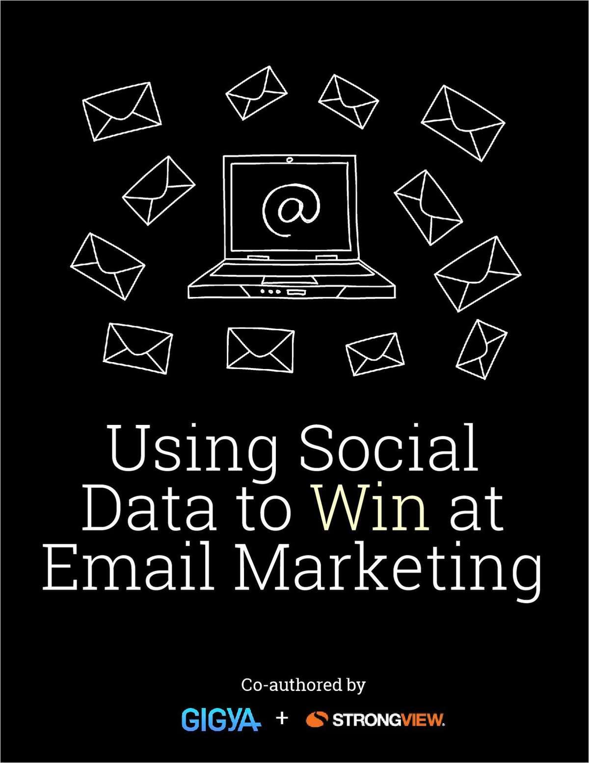 Using social data to win at email marketing