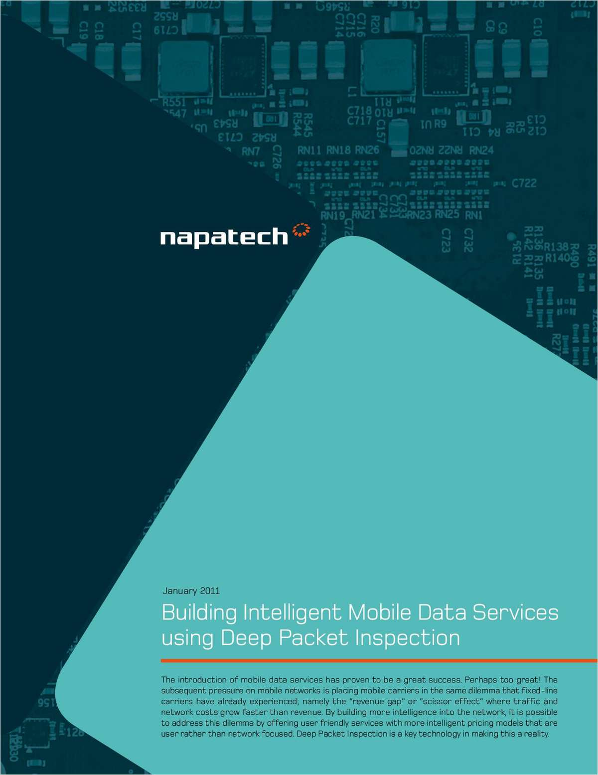 Building Intelligent Mobile Data Services Using Deep Packet Inspection for Telecom Equipment Vendors