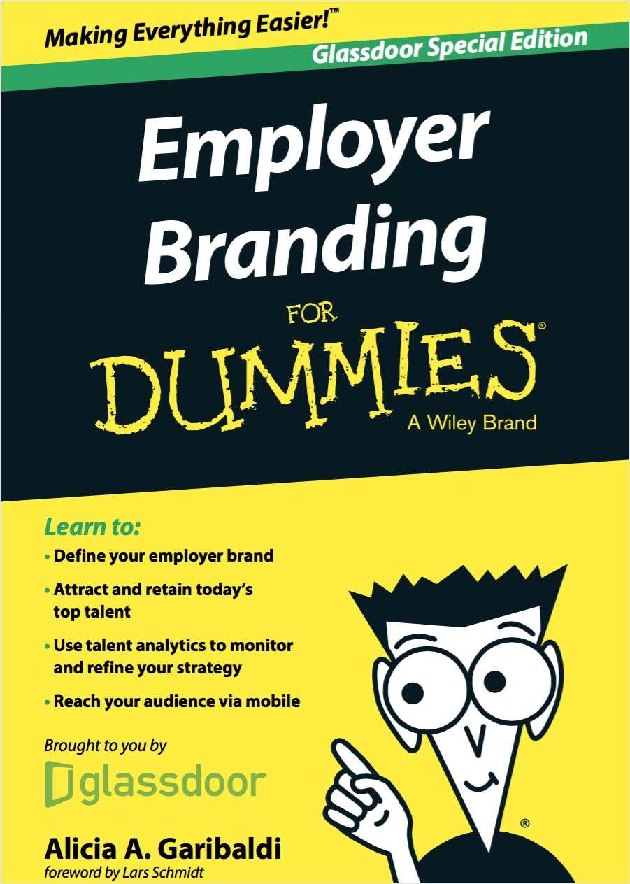 Employer Branding For Dummies®, Glassdoor Special Edition