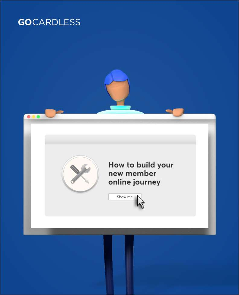 How to build your new member online journey