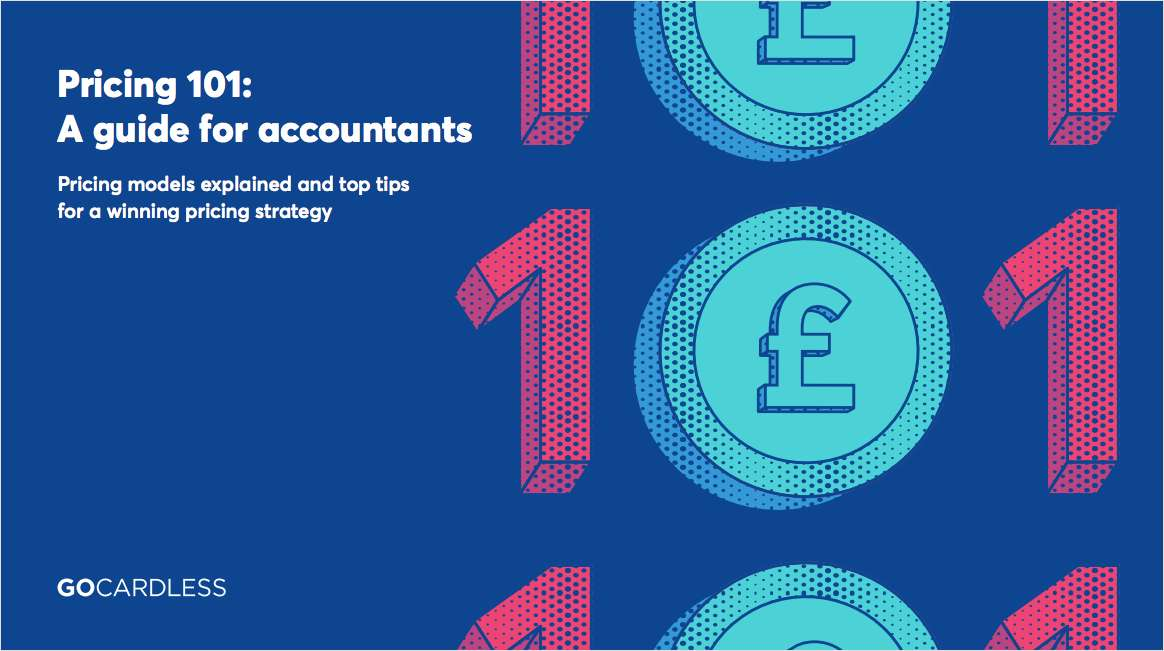 Pricing 101: A guide for accountants