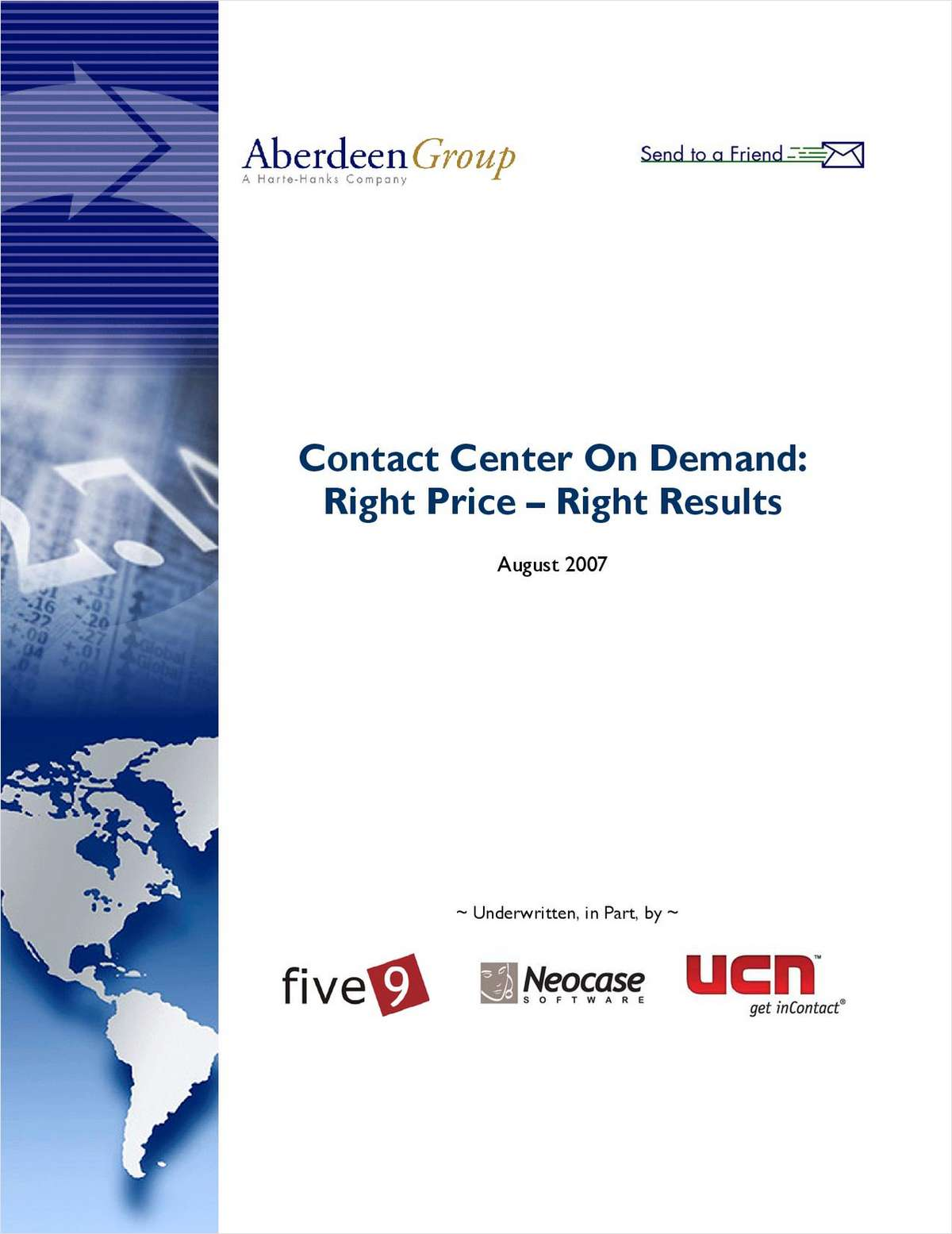 Contact Center On Demand: Right Price – Right Results