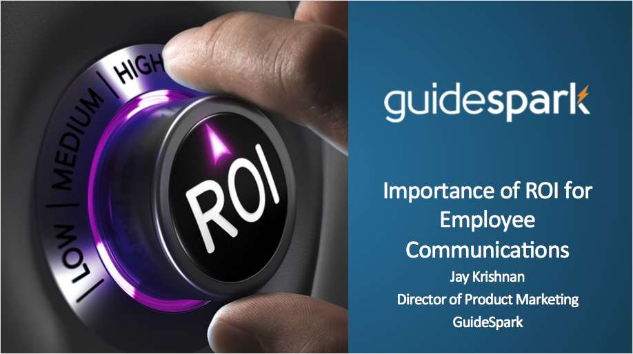 Accelerate Your ROI: Build Effective Employee Communications