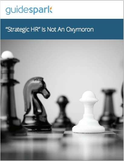 'Strategic HR' Is Not An Oxymoron