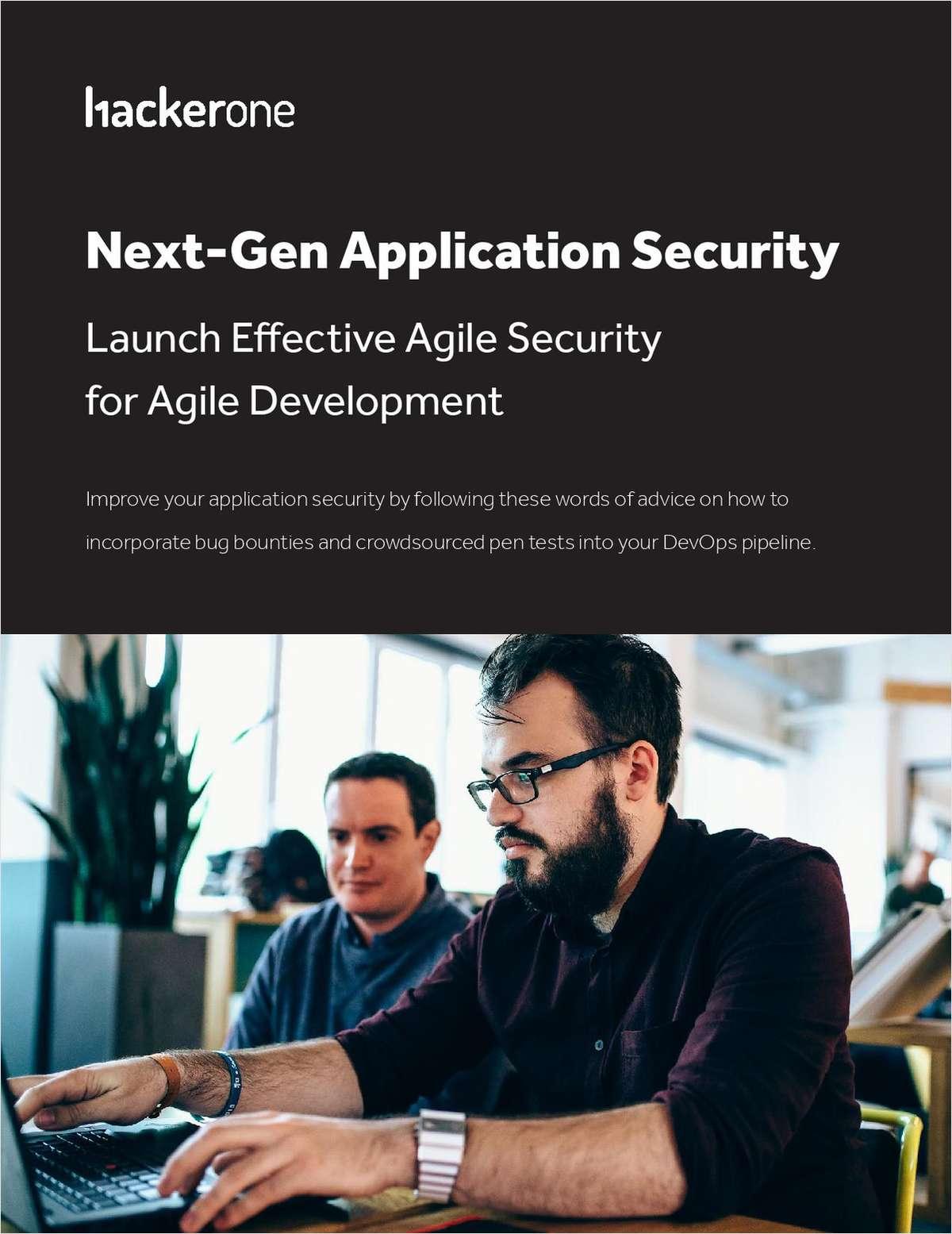 Next-Gen Application Security: Launch Effective Agile Security for Agile Development