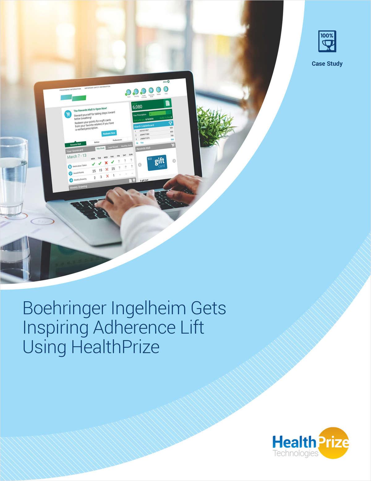 How Boehringer Ingelheim Improved Adherence Using HealthPrize