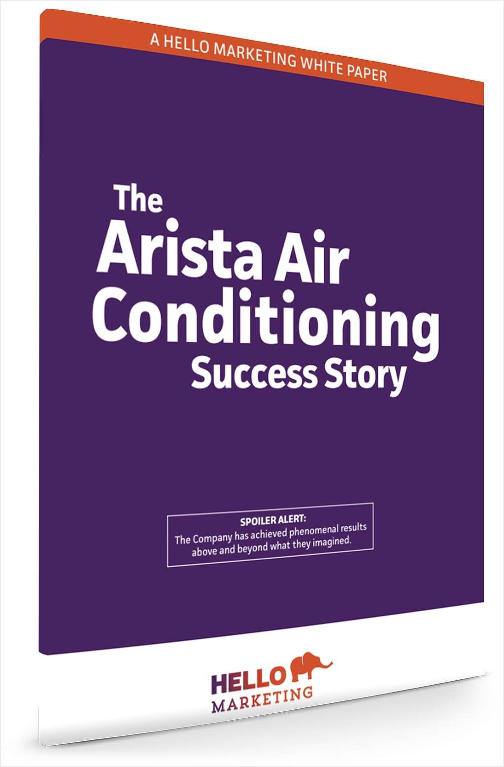 An Inbound Marketing Case Study: The Arista Success Story
