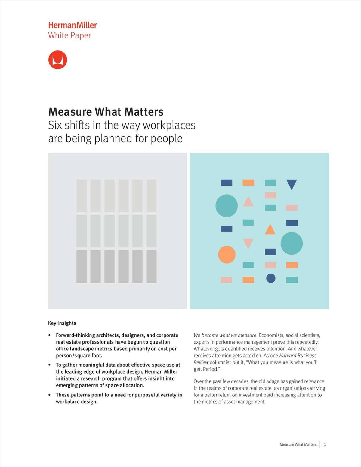 Measure What Matters - Six shifts in the way workplaces are being planned for people.