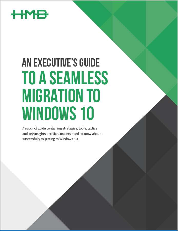 Executive's Guide to a Seamless Migration to Windows 10