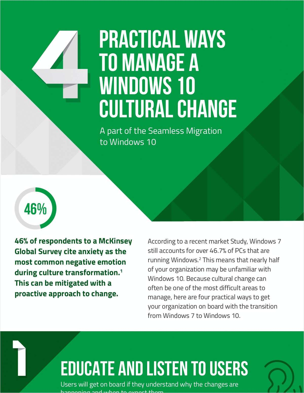 4 Practical Ways to Manage a Windows 10 Cultural Change