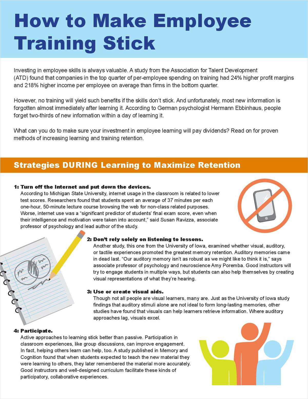 How to Make Employee Learning Stick