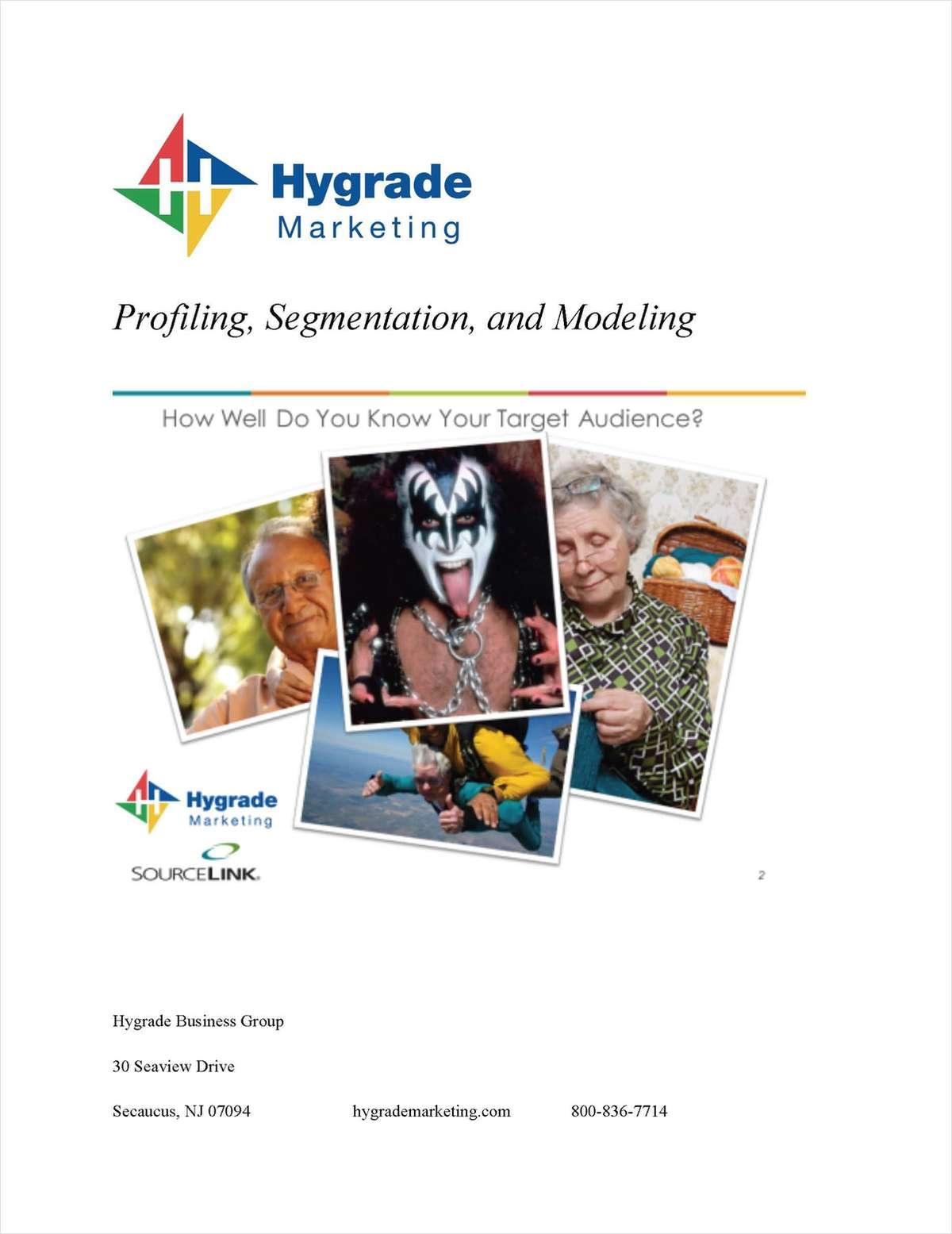 Marketing 101: Profiling, Segmentation and Modeling