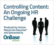 Controlling Content: An Ongoing HR Challenge
