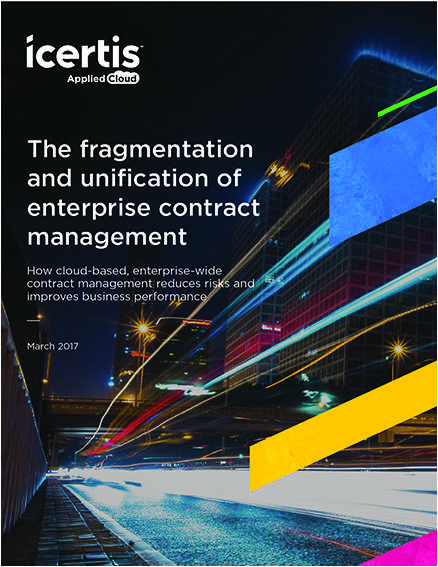 The Fragmentation and Unification of Enterprise Contract Management