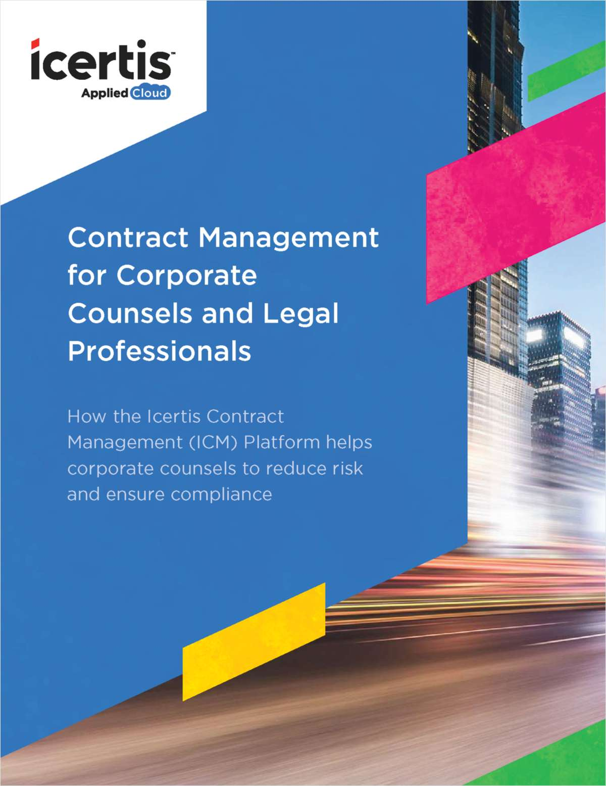 Contract Management for Corporate Counsels and Legal Professionals