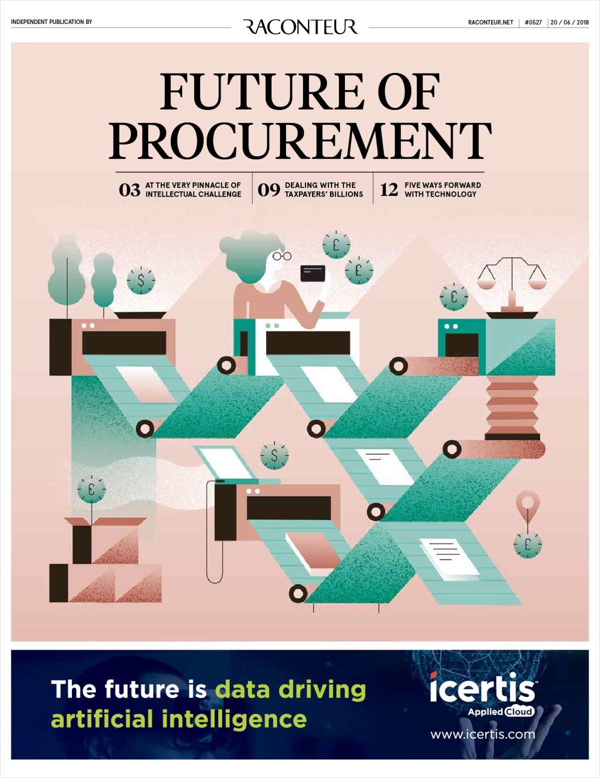The Future of Procurement: Data Driving AI