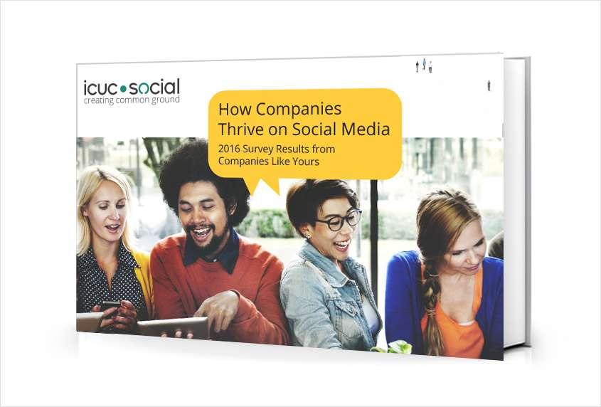 How Companies Thrive on Social Media