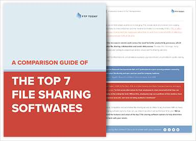 A Comparison Guide of the Top 7 File Sharing Software