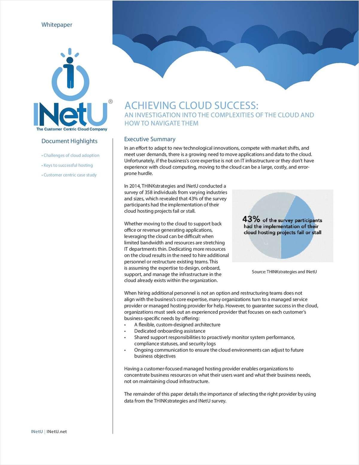 Achieving Cloud Success