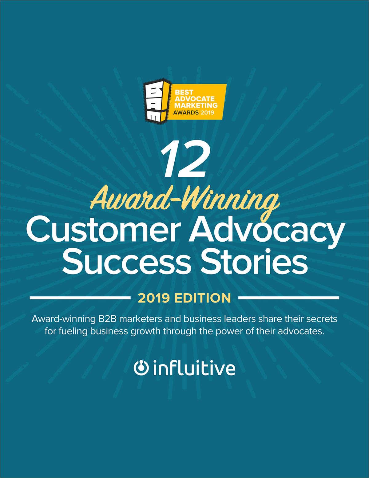 12 Award-Winning Customer Advocacy Success Stories