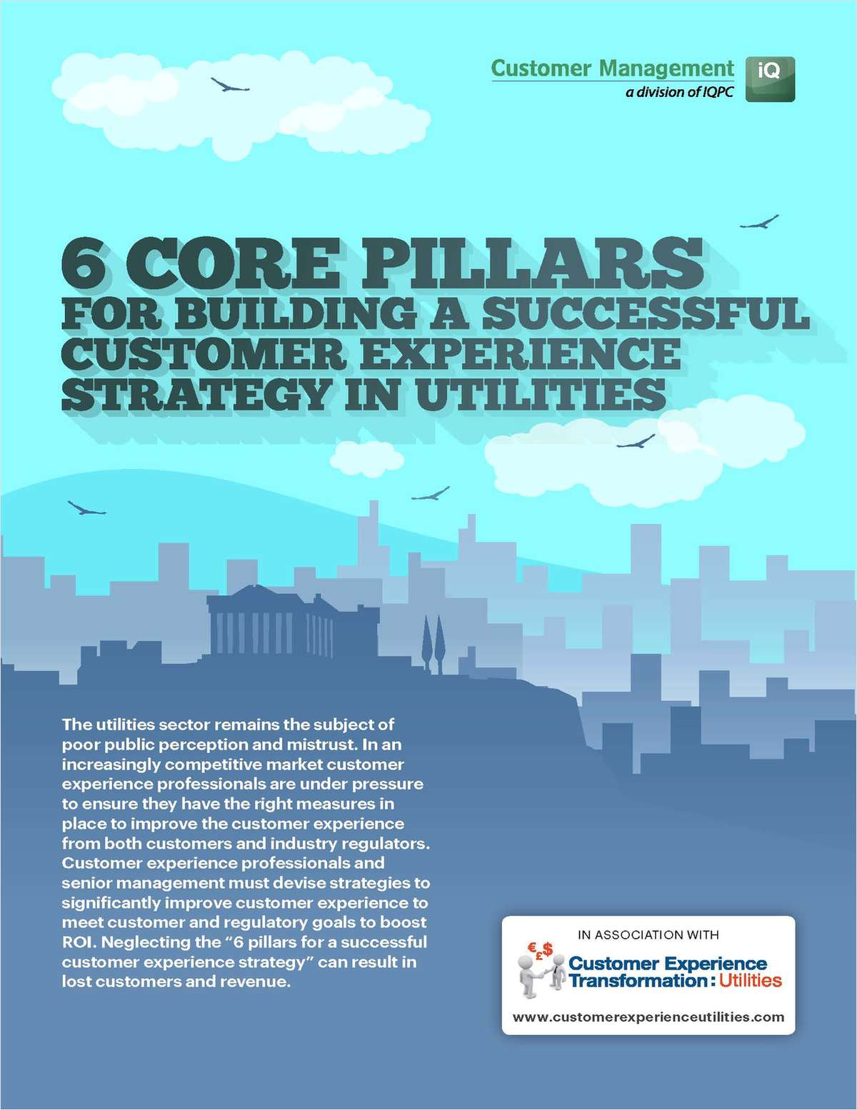 6 Core Pillars for building a successful customer experience strategy in utilities