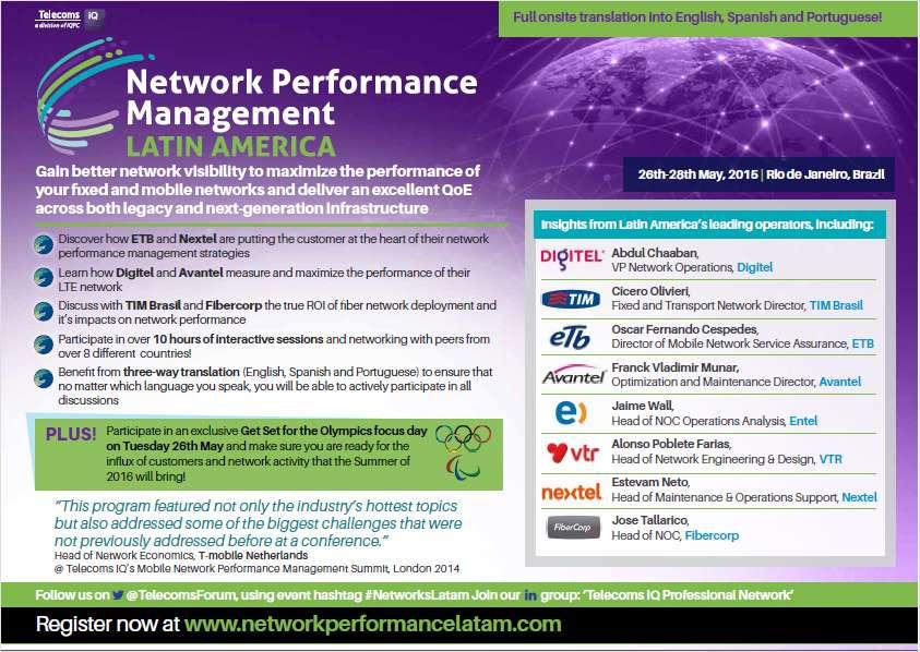 Network Performance Management Latin America