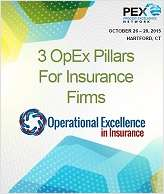 3 Operational Excellence pillars North American insurers need to know