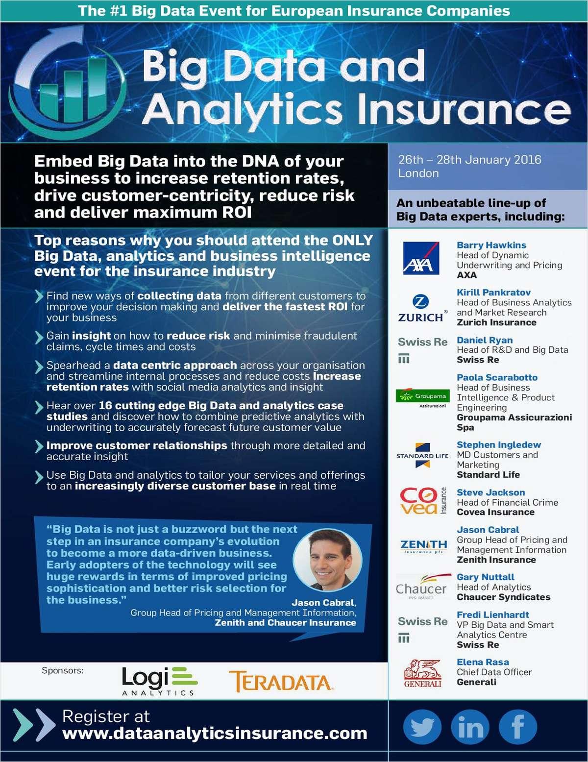 Big Data and Analytics Insurance