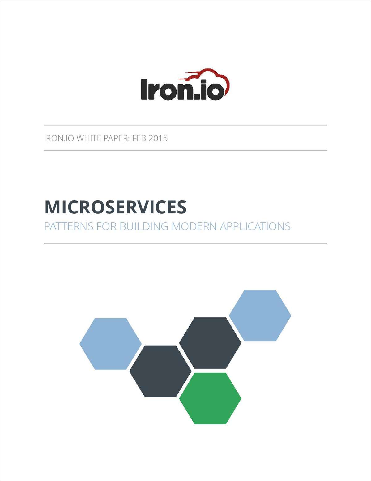 MICROSERVICES: Patterns For Building Modern Applications