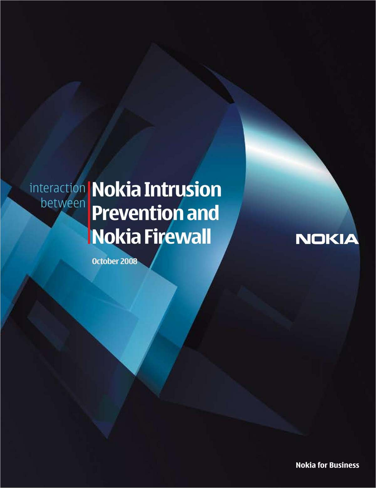Nokia Intrusion Prevention and Nokia Firewall