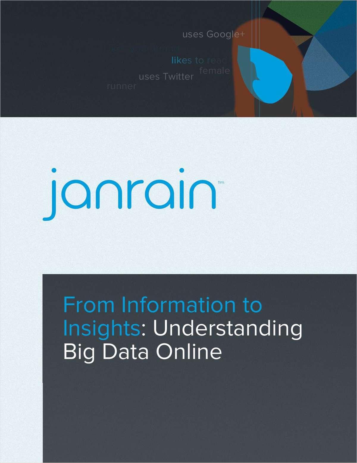 From Information to Insights -- Understanding Big Data Online