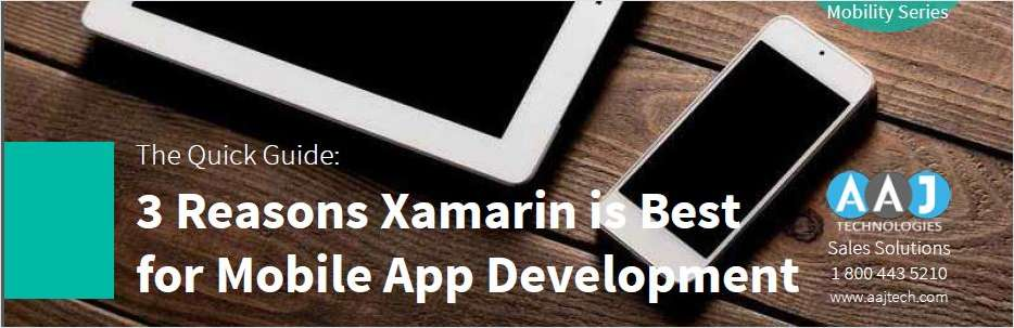 3 Reasons Xamarin is best for Mobile App Development