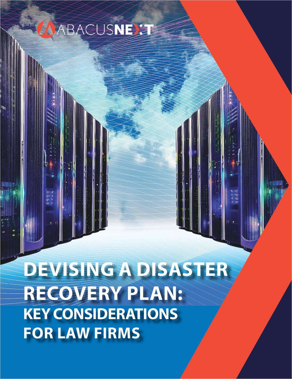 Devising a Disaster Recovery Plan: Key Considerations for Law Firms