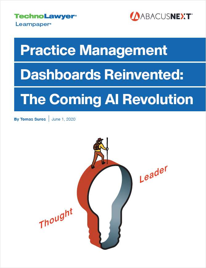 Practice Management Dashboards: The Coming AI Revolution