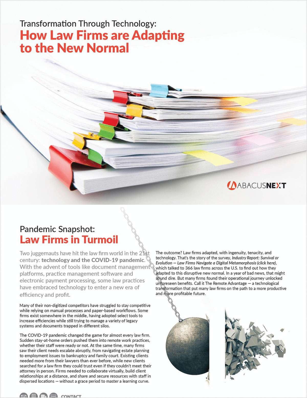 Transformation Through Technology: How Law Firms are Adapting to the New Normal