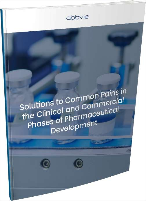 Solutions to Common Pains in the Clinical and Commercial Phases of Pharmaceutical Development